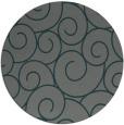 rug #428969 | round green circles rug