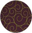 rug #429069   round purple circles rug