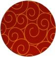 rug #429085 | round red circles rug