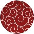 rug #429089   round red circles rug