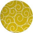 rug #429141 | round white rug