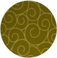 rug #429161 | round light-green circles rug