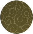 rug #429173 | round light-green circles rug