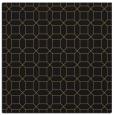 rug #429565   square mid-brown geometry rug