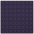 rug #429653 | square blue-violet geometry rug