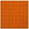rug #429733   square orange rug