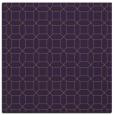 rug #429777   square mid-brown geometry rug