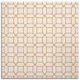 rug #429813 | square red-orange rug