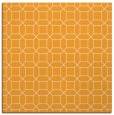 rug #429893   square light-orange geometry rug