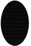 rug #429905   oval black rug