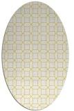 rug #430084 | oval geometry rug