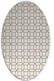 rug #430193   oval brown popular rug