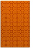 rug #430437 |  orange popular rug