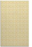 rug #430537 |  yellow geometry rug