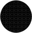 rug #430609 | round black rug