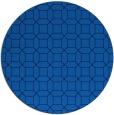 rug #430769 | round blue rug