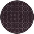 rug #430837 | round purple popular rug