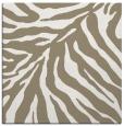 rug #433065 | square white animal rug