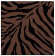 rug #433081   square black animal rug