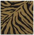 rug #433085 | square brown animal rug