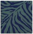 rug #433097 | square blue stripes rug