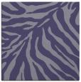 rug #433153 | square blue-violet animal rug