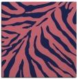 rug #433157   square pink animal rug
