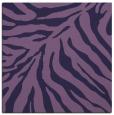 rug #433161   square purple animal rug