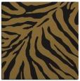 rug #433181 | square mid-brown animal rug