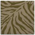 rug #433185 | square mid-brown animal rug