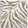 rug #433205 | square mid-brown animal rug