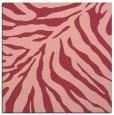 rug #433281   square pink animal rug