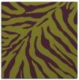 rug #433293   square green animal rug