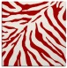 rug #433305 | square red animal rug