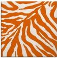rug #433333 | square red-orange animal rug