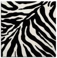 rug #433337 | square white animal rug