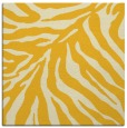 rug #433353   square yellow stripes rug