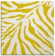 rug #433365 | square yellow stripes rug