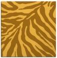 rug #433369 | square yellow animal rug