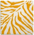 rug #433401 | square light-orange animal rug