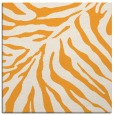 rug #433413 | square light-orange animal rug