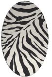 rug #433423 | oval stripes rug