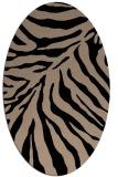 rug #433429 | oval beige popular rug