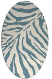 rug #433442 | oval stripes rug