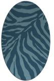 rug #433444 | oval stripes rug
