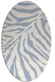 rug #433459   oval animal rug