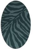 rug #433489   oval stripes rug