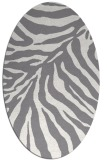 rug #433602 | oval stripes rug