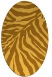 rug #433721 | oval light-orange popular rug