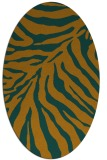 rug #433723 | oval stripes rug